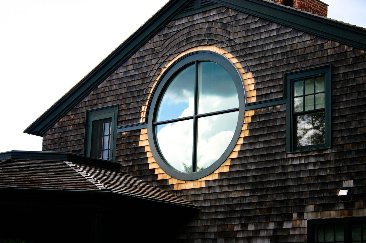Круглые окна фото